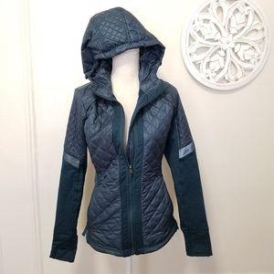 Athleta size S hooded jacket